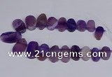 CTD2745 Top drilled 18*25mm - 22*40mm freeform agate beads