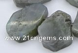 CTD333 Top drilled 15*20mm - 25*30mm freeform labradorite beads