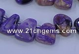 CTD3652 Top drilled 10*14mm - 15*20mm freeform charoite beads