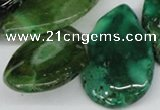 CTD612 Top drilled 25*30mm - 34*45mm freeform agate gemstone beads