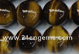 CTE1245 15.5 inches 12mm round AA grade yellow tiger eye beads