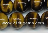 CTE1252 15.5 inches 10mm round AAA grade yellow tiger eye beads