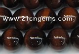 CTE1261 15.5 inches 8mm round AB grade red tiger eye beads