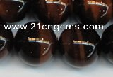 CTE1297 15.5 inches 16mm round AA grade red tiger eye beads