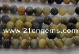 CTE1420 15.5 inches 4mm round golden & blue tiger eye beads wholesale