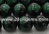 CTE1425 15.5 inches 14mm round green tiger eye beads wholesale