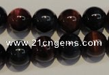 CTE149 15.5 inches 12mm round colorful tiger eye beads wholesale