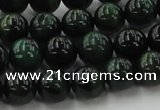 CTE1493 15.5 inches 10mm round green tiger eye beads wholesale