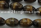 CTE1701 15.5 inches 12*16mm rice yellow tiger eye beads