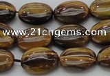 CTE1714 15.5 inches 10*14mm oval yellow tiger eye beads wholesale