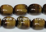 CTE174 15.5 inches 13*18mm nuggets yellow tiger eye gemstone beads