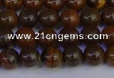 CTE1781 15.5 inches 6mm round yellow iron tiger beads wholesale