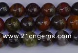 CTE1791 15.5 inches 6mm round red iron tiger beads wholesale