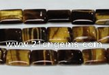 CTE189 15.5 inches 13*18mm rectangle yellow tiger eye gemstone beads