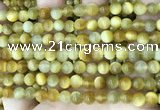 CTE2008 15.5 inches 6mm round golden tiger eye beads wholesale