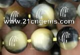 CTE2017 15.5 inches 10mm round golden & blue tiger eye beads wholesale