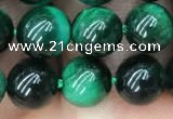 CTE2052 15.5 inches 8mm round green tiger eye beads wholesale