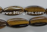 CTE306 15.5 inches 12*25mm marquise yellow tiger eye gemstone beads