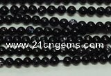 CTG113 15.5 inches 2mm round tiny blue goldstone beads wholesale