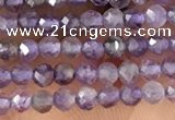 CTG1340 15.5 inches 2mm faceted round amethyst beads wholesale