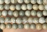 CTG2003 15 inches 2mm,3mm silver leaf jasper beads