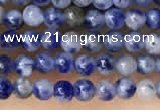 CTG2017 15 inches 2mm,3mm sodalite gemstone beads