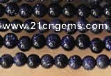 CTG2036 15 inches 2mm,3mm blue goldstone beads wholesale