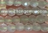 CTG2205 15 inches 2mm,3mm faceted round prehnite gemstone beads