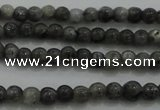 CTG259 15.5 inches 3mm round tiny black labradorite beads wholesale