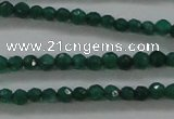 CTG415 15.5 inches 2mm faceted round tiny dyed candy jade beads