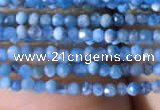 CTG758 15.5 inches 1.5mm faceted round tiny apatite gemstone beads