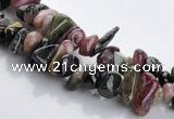 CTO05 36 inches 5*8mm freeform natural tourmaline chips beads