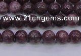 CTO600 15.5 inches 4mm round Chinese tourmaline beads wholesale
