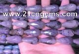 CTR309 15.5 inches 10*25mm faceted teardrop labradorite beads
