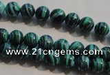 CTU2403 15.5 inches 6mm round synthetic turquoise beads