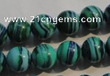 CTU2406 15.5 inches 12mm round synthetic turquoise beads