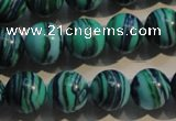 CTU2407 15.5 inches 14mm round synthetic turquoise beads