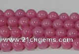 CTU2549 15.5 inches 8mm round synthetic turquoise beads