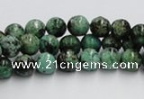 CTU402 15.5 inches 14mm round African turquoise beads wholesale