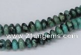 CTU433 15.5 inches 3*6mm rondelle African turquoise beads wholesale