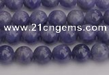 CTZ502 15.5 inches 7mm round natural tanzanite gemstone beads