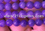 CTZ510 15.5 inches 3mm round natural tanzanite gemstone beads