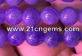 CTZ512 15.5 inches 5mm round natural tanzanite gemstone beads