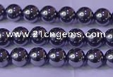 CTZ601 15.5 inches 6mm round terahertz beads wholesale