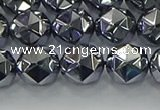 CTZ632 15.5 inches 8mm faceted nuggets terahertz beads wholesale