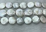FWP381 15 inches 18mm - 20mm coin freshwater pearl beads