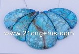 NGP106 Dyed imperial jasper gemstone pendants set jewelry wholesale